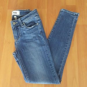 Paige womens Verdugo Ankle skinny jeans size 25